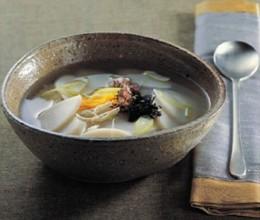 正宗韩国米糕汤的做法