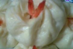 露尾巴的——白菜鲜虾包