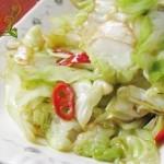 辣炒圆白菜