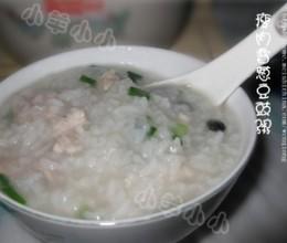 预防感冒——瘦肉香葱豆豉粥