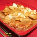 中式洋葱烩猪扒