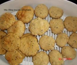 微波炉燕麦饼干
