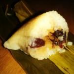 香甜可口——糯米红枣粽子