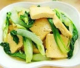 小青菜炒北豆腐