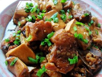 紅燒草魚豆腐
