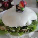 中式汉堡-馒头堡