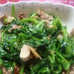 碗豆尖炒肉
