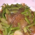 芹菜炒粉皮