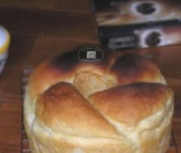奶酪花环面包