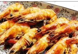 黑胡椒烤海虾