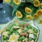 金钩炒碗豆