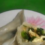 韭菜鸡蛋馅饺子