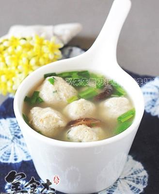 汆豆腐丸子