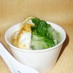 小白菜蛋汤