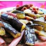 茄子炒海肠