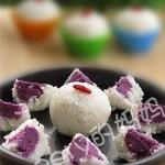 【春游美食】紫薯饭团