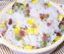 立夏必吃:豌豆糯米饭