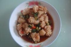 蒜香魷魚卷