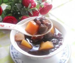 木瓜红豆桂圆甜汤