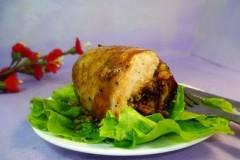 鸡肉米饭卷
