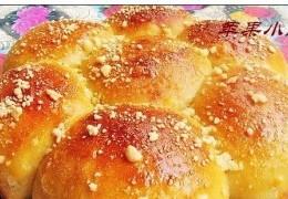 玉米花朵奶酥包