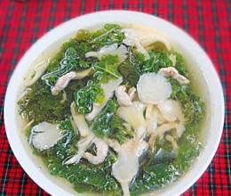 羽衣甘蓝蘑菇汤