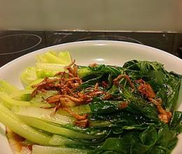 姜蒜小白菜