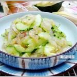 【夏日小凉菜】青瓜拌海蜇