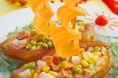 海参玉米粒