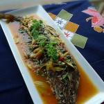 甜辣酱焖海鱼