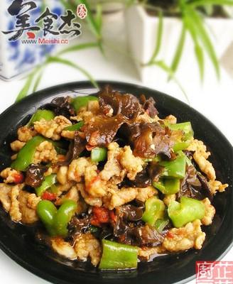 木耳青椒烩肉