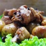 栗子土豆烧鸡块