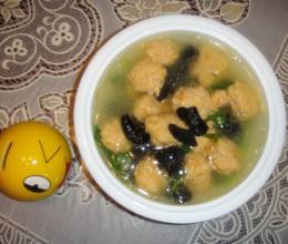 肉丸青菜汤