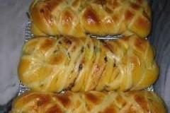 番茄芝士葡萄干面包
