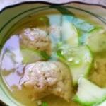 鲜美鱼丸汤