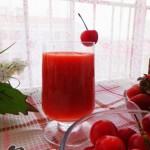 草莓樱桃汁