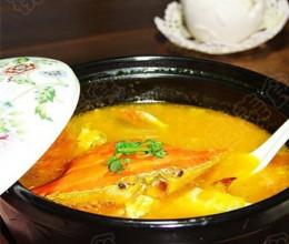 金瓜螃蟹汤