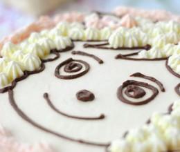 【喜羊羊生日蛋糕】女儿三周岁蛋糕