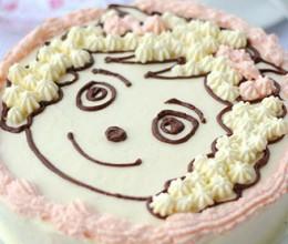 喜羊羊生日蛋糕