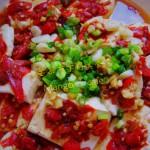 【湘菜】剁椒蒸臭豆腐(含臭豆腐的做法)
