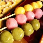 多彩豆腐糯米团子