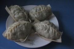 凉水面菜豆包子