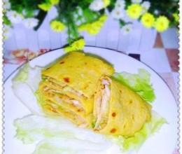 【中式面点】营养早餐双味玉米煎饼
