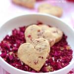 【玫瑰心形饼干】七夕让玫瑰花甜在心