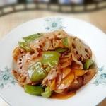 海鲜酱炒藕片
