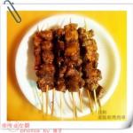 <自制家庭版>烤猪肉串