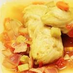 鲜汤圆白菜肉卷