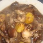 板栗炖香菇