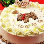 可爱小狗蛋糕