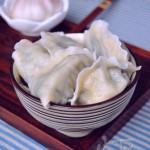 韭菜扇贝水饺